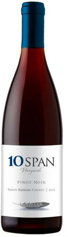 10 Span Vineyards Pinot Noir Santa Barbara County